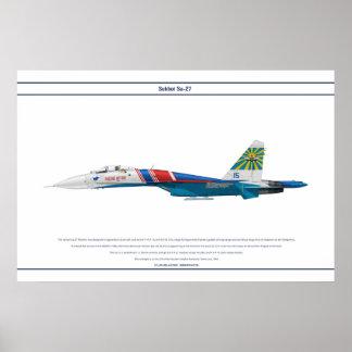 Su-27 Russia 4 Poster