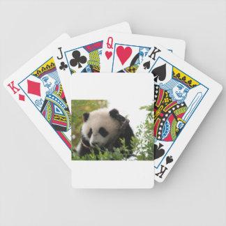 Su Lin, giant panda bear cub at the San Diego Zoo Poker Deck