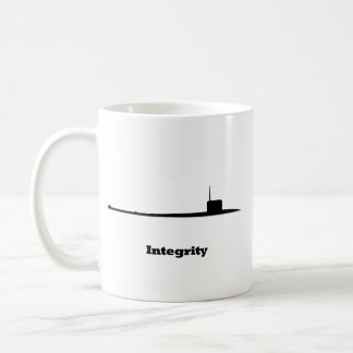 Sub Integrity Classic White Coffee Mug