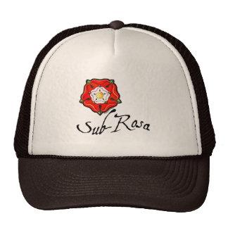 Sub Rosa Mesh Hat
