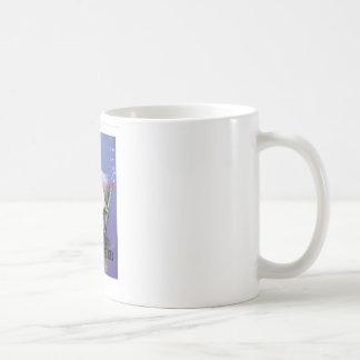 Sub woofer basic white mug