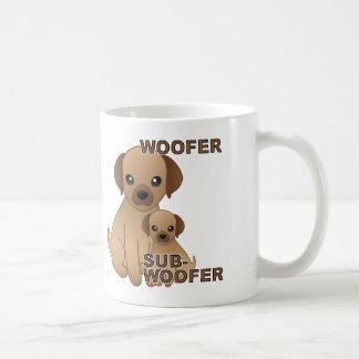Sub-Woofer Dog Puppy Funny Mug or Travel Mug