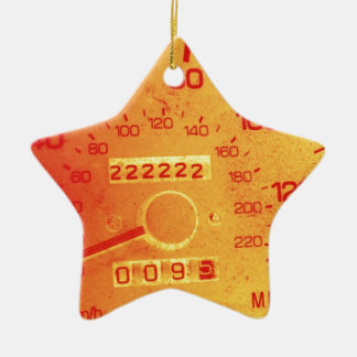 Subaru 222,222 Mile Odometer Christmas Ornament