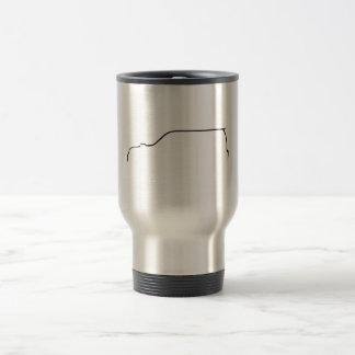 Subaru Forester XT Silhouette Travel Mug