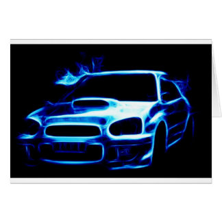 Subaru Impreza Card