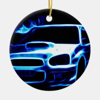 Subaru Impreza Christmas Ornament