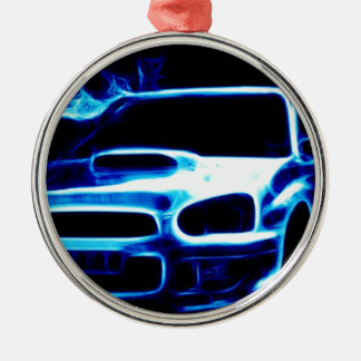 Subaru Impreza Christmas Ornament