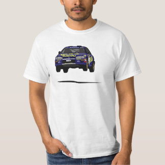 Subaru Impreza Rally Car Colin McRae 555 T-Shirt