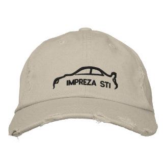 Subaru Impreza STI Embroidered Hat
