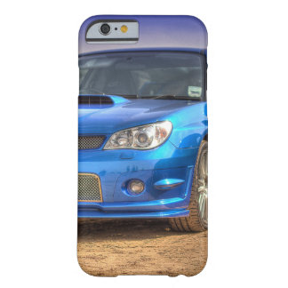 "Subaru Impreza STi ""Hawkeye"" in Blue Barely There iPhone 6 Case"