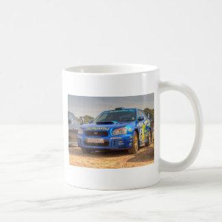 Subaru Impreza STi SWRT Stickers Coffee Mug