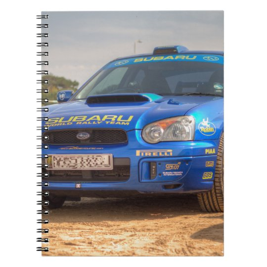 Subaru Impreza STi SWRT Stickers Notebooks