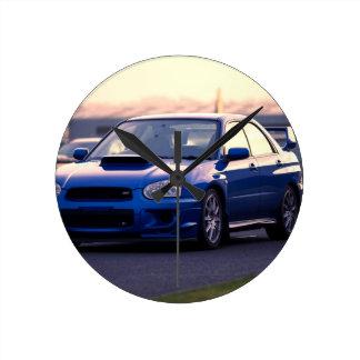 Subaru Impreza WRX STi Round Clock