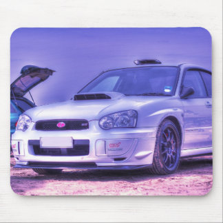 Subaru Impreza WRX STi Spec C in White Mouse Mat