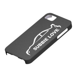 Subbie Love - STI white silhouette logo iPhone 5 Covers