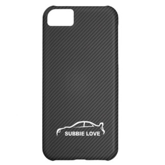 Subbie Love - STI white silhouette logo iPhone 5C Case
