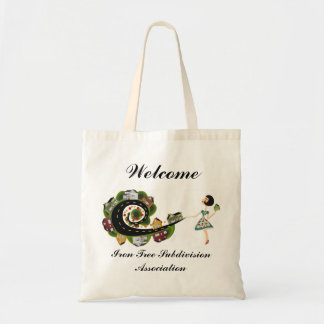 Subdivision Association Welcome Tote Bag