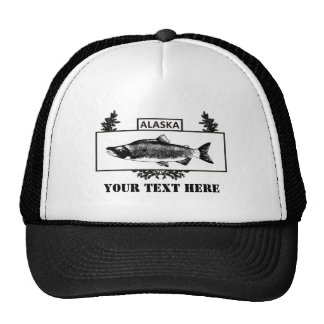 Subdued Alaska Combat Fisherman Badge Cap