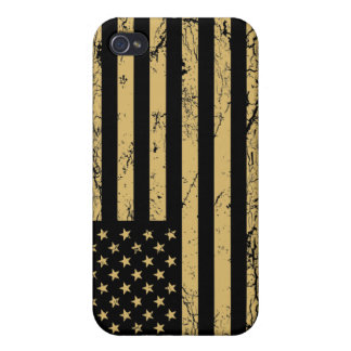 Subdued American Flag Cases For iPhone 4