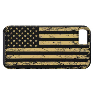 Subdued American Flag Tough iPhone 5 Case