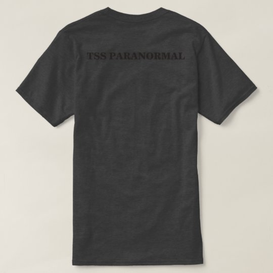 Subdued Black TSS Paranormal T-Shirt