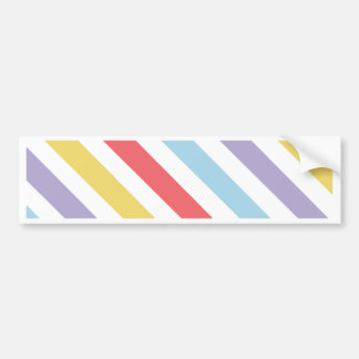 Subdued Stripes Bumper Sticker