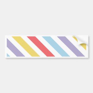 Subdued Stripes Bumper Sticker