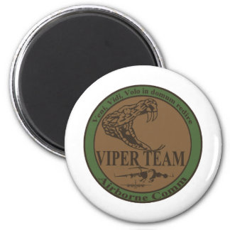 Subdued Viper Team Patch 6 Cm Round Magnet