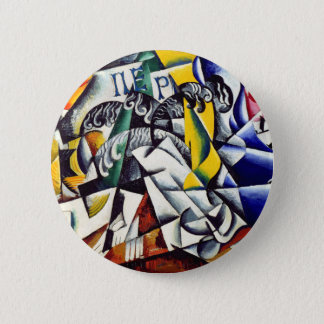 Subject from a Dyer's Shop 6 Cm Round Badge