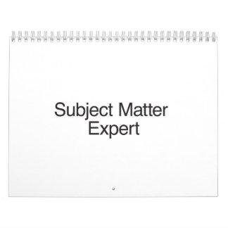 Subject Matter Expert.ai Calendar
