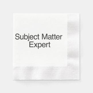 Subject Matter Expert.ai Disposable Serviette