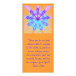 Subjects of One God Ruhi Quote Full Color Rack Card