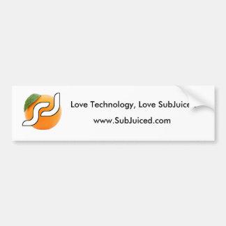SubJuiced com Bumper Sticker
