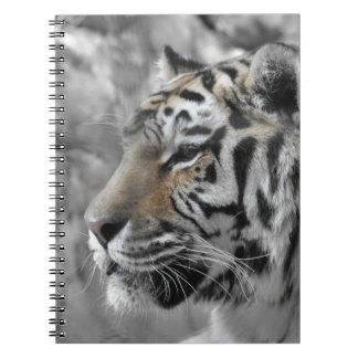 Sublime tiger wild animal spiral notebook