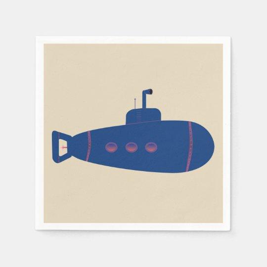 Submarine Disposable Napkins