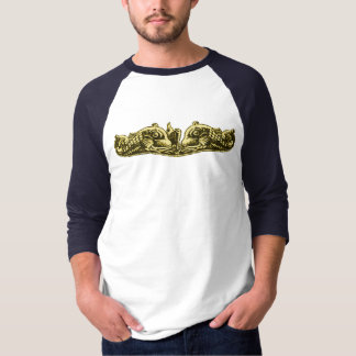 Submarine Dolphins Officer and LOUISIANA CREST T-Shirt