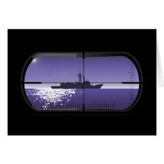 Submarine Patrol Card
