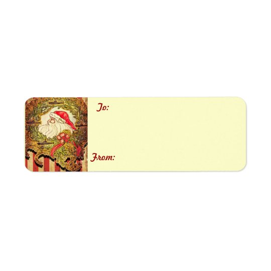 Submarine Santa gift tags