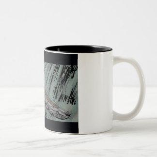 Submarine Two-Tone Coffee Mug