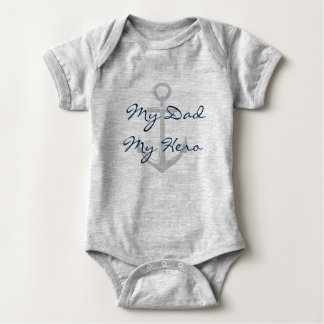 Submariner Prayer Baby Bodysuit