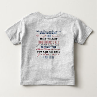 Submariner Prayer toddler tee
