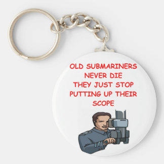 SUBmariners never die Keychains