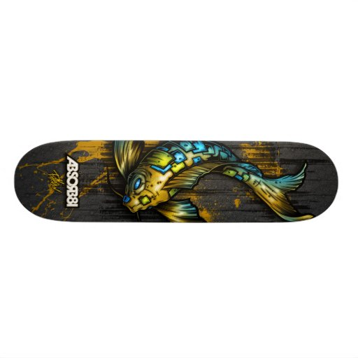 SUBMERGE/Koi Skateboards