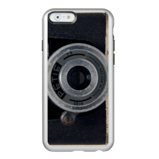 Subminiature VINTAGE CAMERA Collection 16 Silver Incipio Feather® Shine iPhone 6 Case