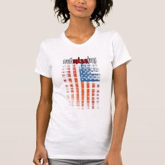 subMISSIon USA White Shirt