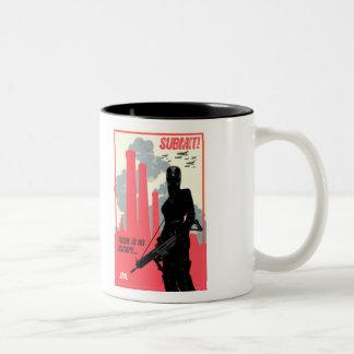 SUBMIT! coffee mug