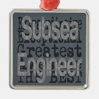 Subsea Engineer Extraordinaire Christmas Ornament