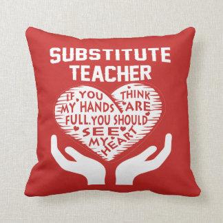 Substitute Teacher Cushion