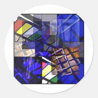 Substratum Classic Round Sticker