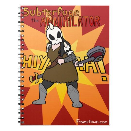Subterfuge Notebook